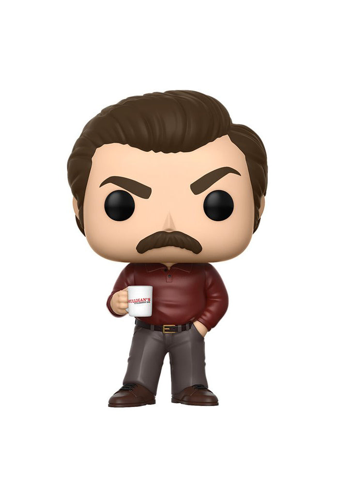 PARKS AND RECREATION Funko Pop! TV: Parks And Recreation - Ron Swanson