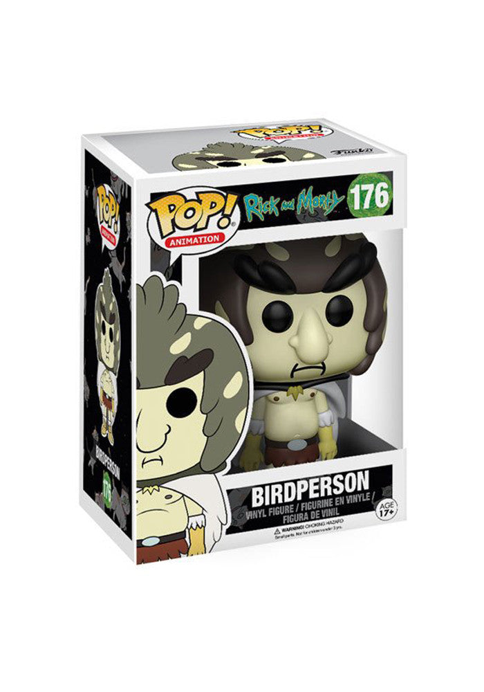 RICK AND MORTY Funko Pop! TV: Rick And Morty - Birdperson