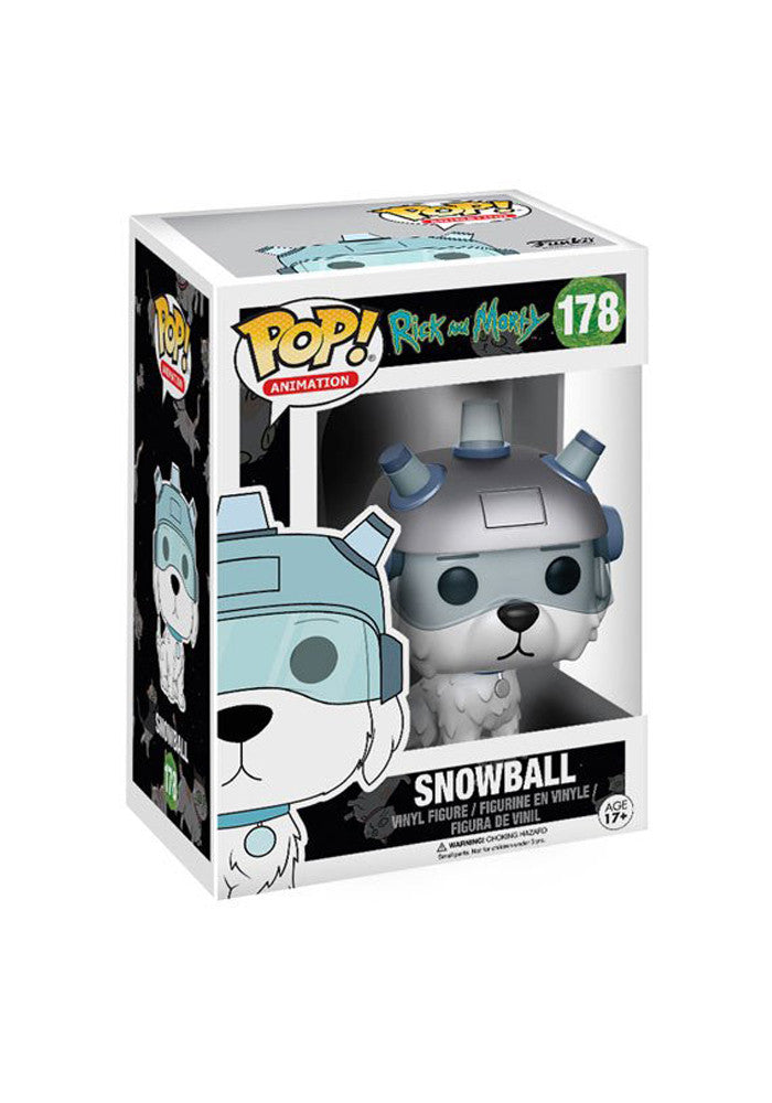 RICK AND MORTY Funko Pop! TV: Rick And Morty - Snowball