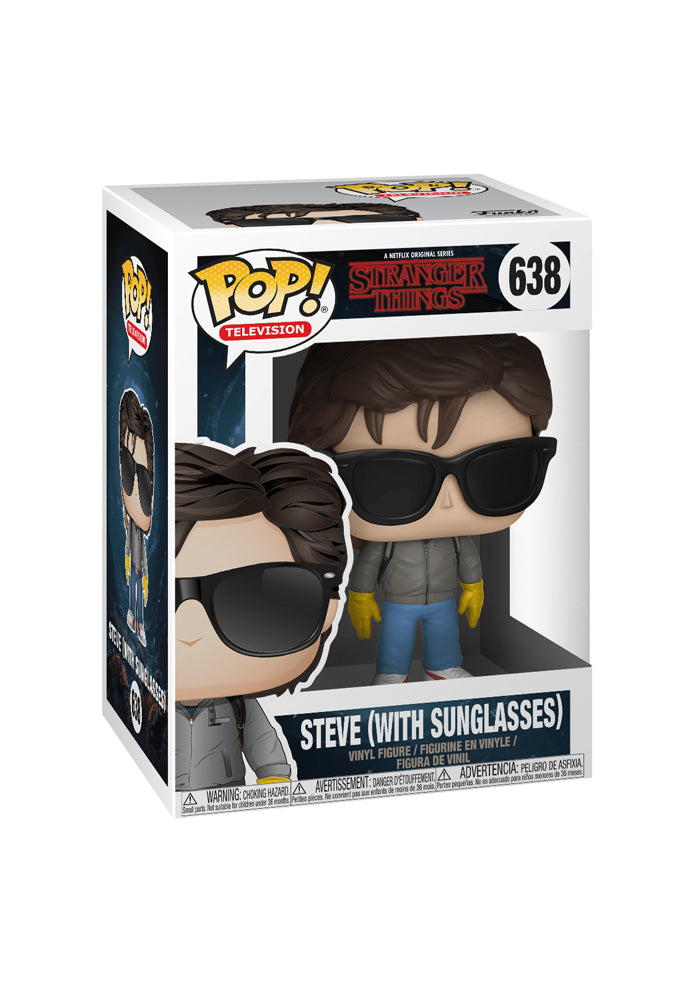 STRANGER THINGS Funko Pop! TV: Stranger Things - Steve (Sunglasses)