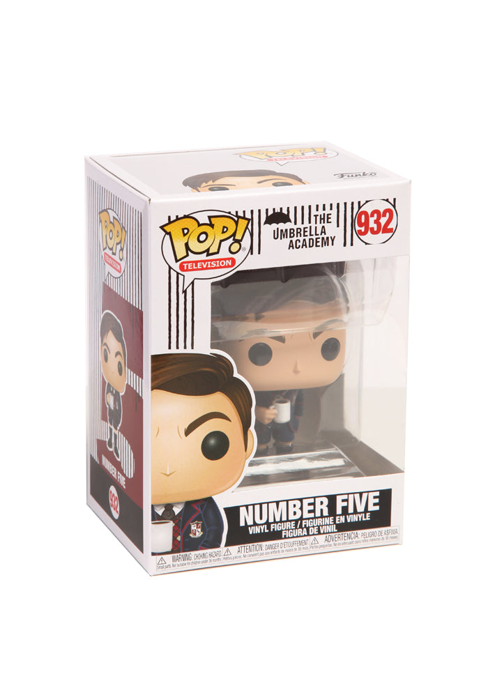 THE UMBRELLA ACADEMY Funko Pop! TV: The Umbrella Academy - Number Five