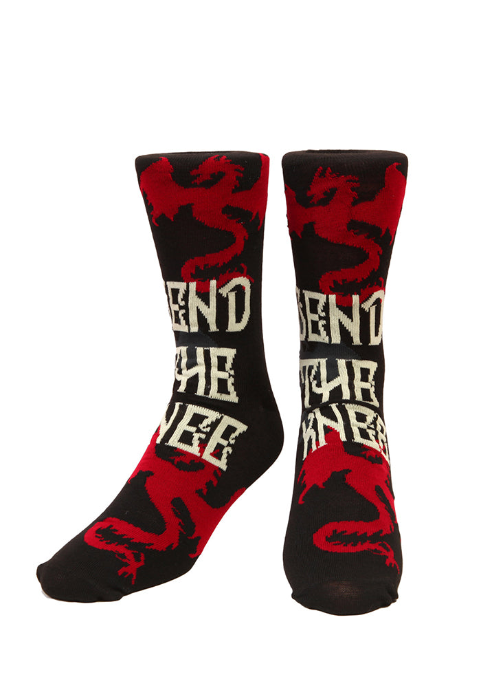 GAME OF THRONES Bend The Knee Socks