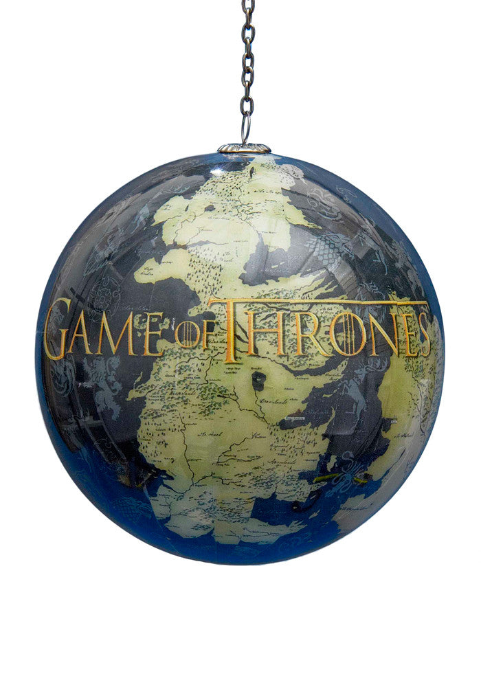 GAME OF THRONES Map Of Westeros 90MM Decoupage Ornament