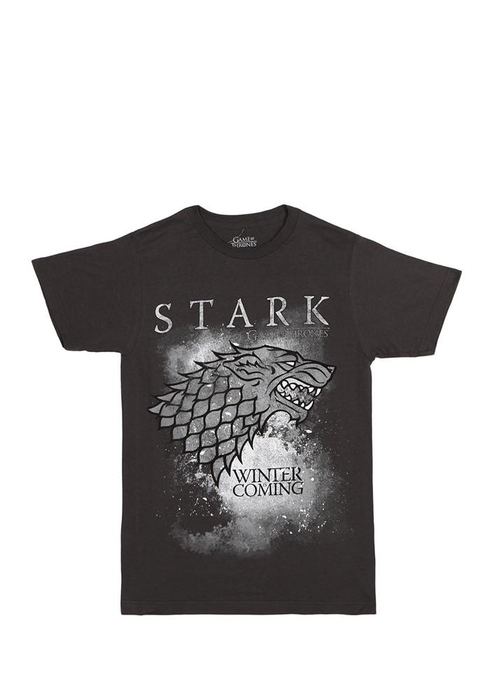 GAME OF THRONES House Stark Winter Is Coming Direwolf T-Shirt