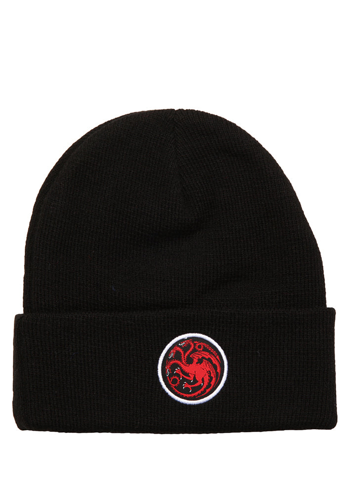 GAME OF THRONES House Targaryen Dragon Sigil Cuff Beanie