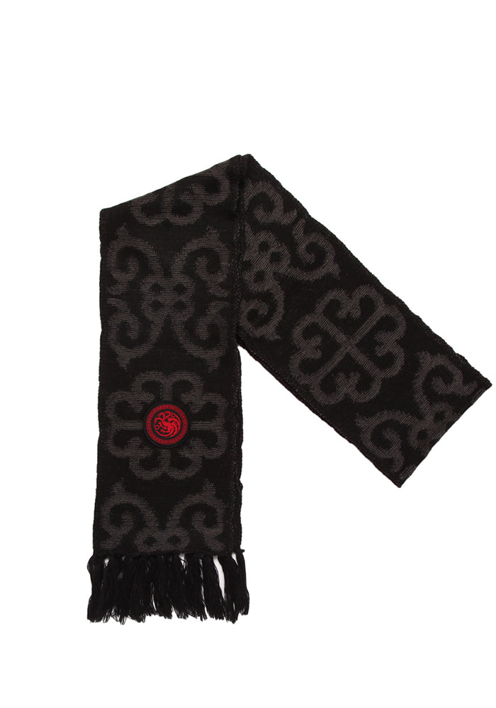 GAME OF THRONES House Targaryen Sigil Knit Scarf