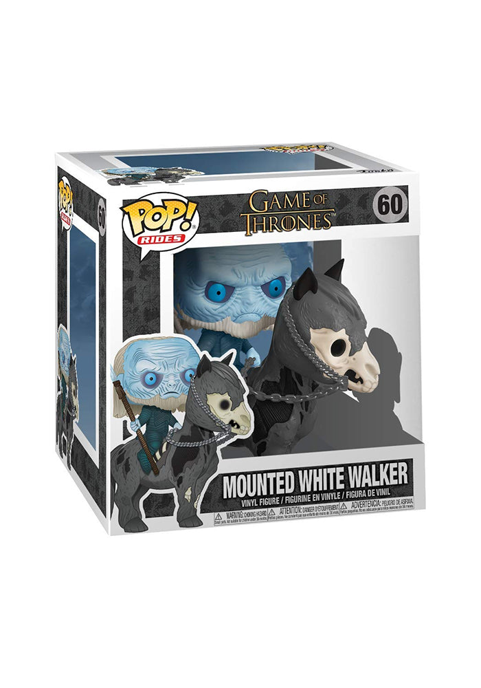 GAME OF THRONES Funko Pop! TV: Game Of Thrones Deluxe - Mounted White Walker