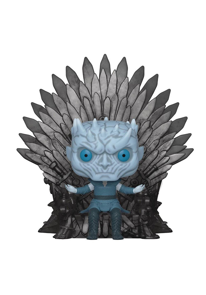 GAME OF THRONES Funko Pop! TV: Game Of Thrones Deluxe - Night King On Iron Throne