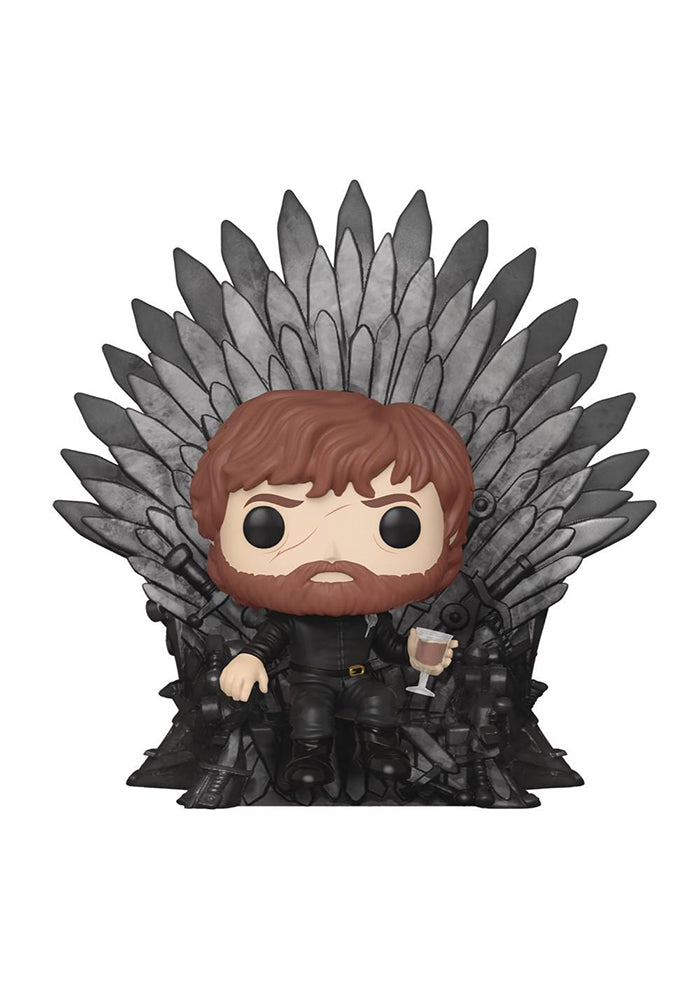 GAME OF THRONES Funko Pop! TV: Game Of Thrones Deluxe - Tyrion Lannister On Iron Throne