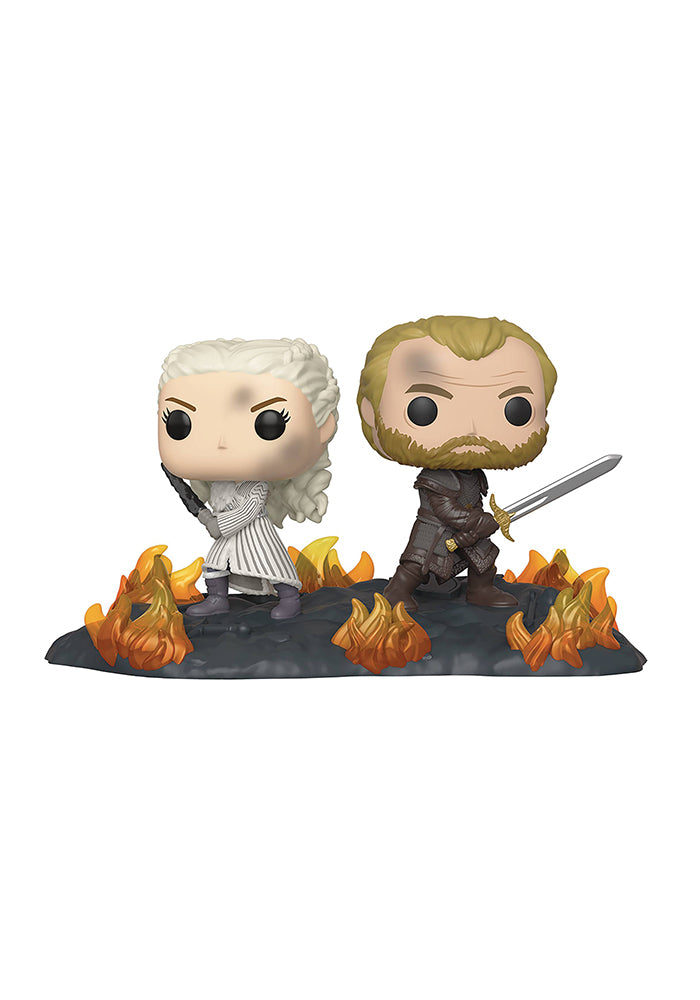 GAME OF THRONES Funko Pop! TV Moments: Game Of Thrones - Daenerys & Jorah At Battle Of Winterfell