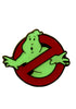 GHOSTBUSTERS Ghostbusters Logo Glow In The Dark Enamel Pin