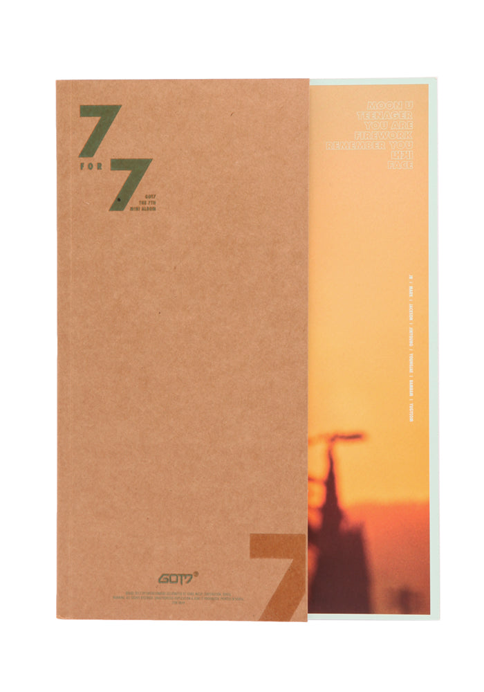 GOT7 7 For 7 CD