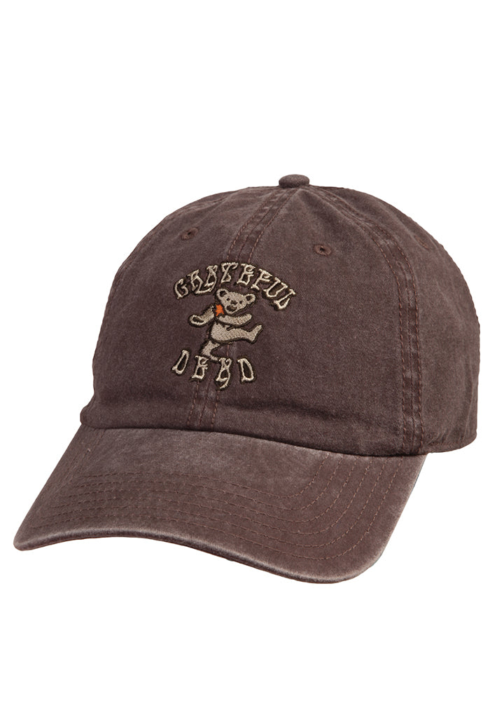 GRATEFUL DEAD Dancing Bear Logo Dad Hat