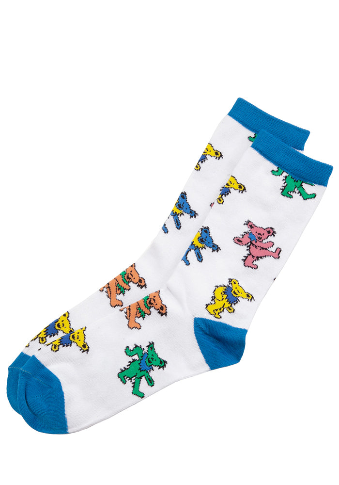 GRATEFUL DEAD Dancing Bears All Over Socks