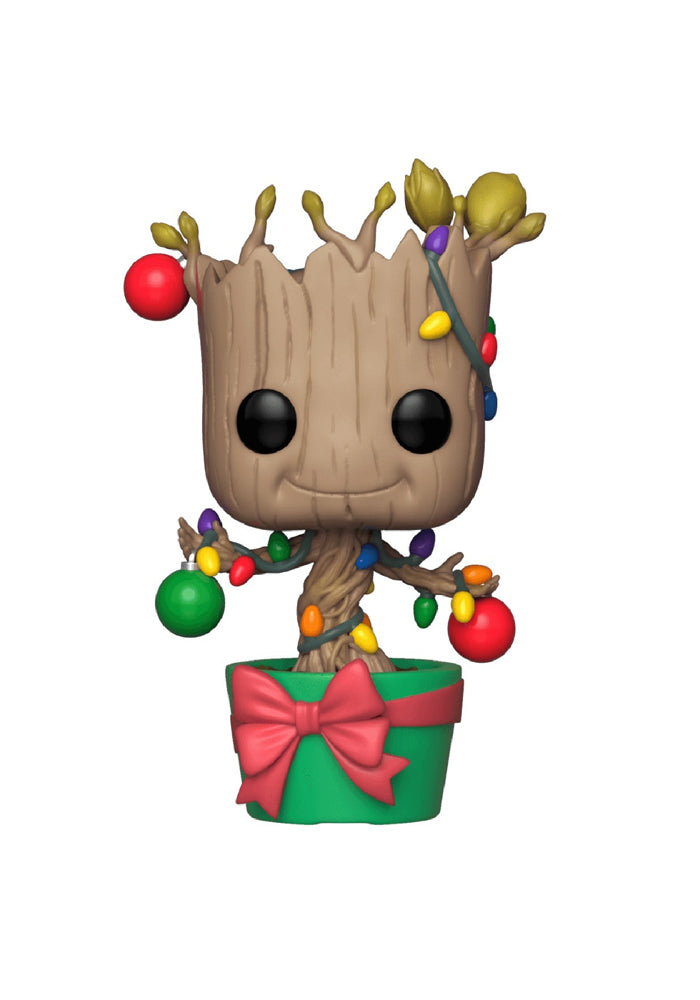 GUARDIANS OF THE GALAXY Funko Pop! Marvel: Holiday - Groot With Lights Bobblehead