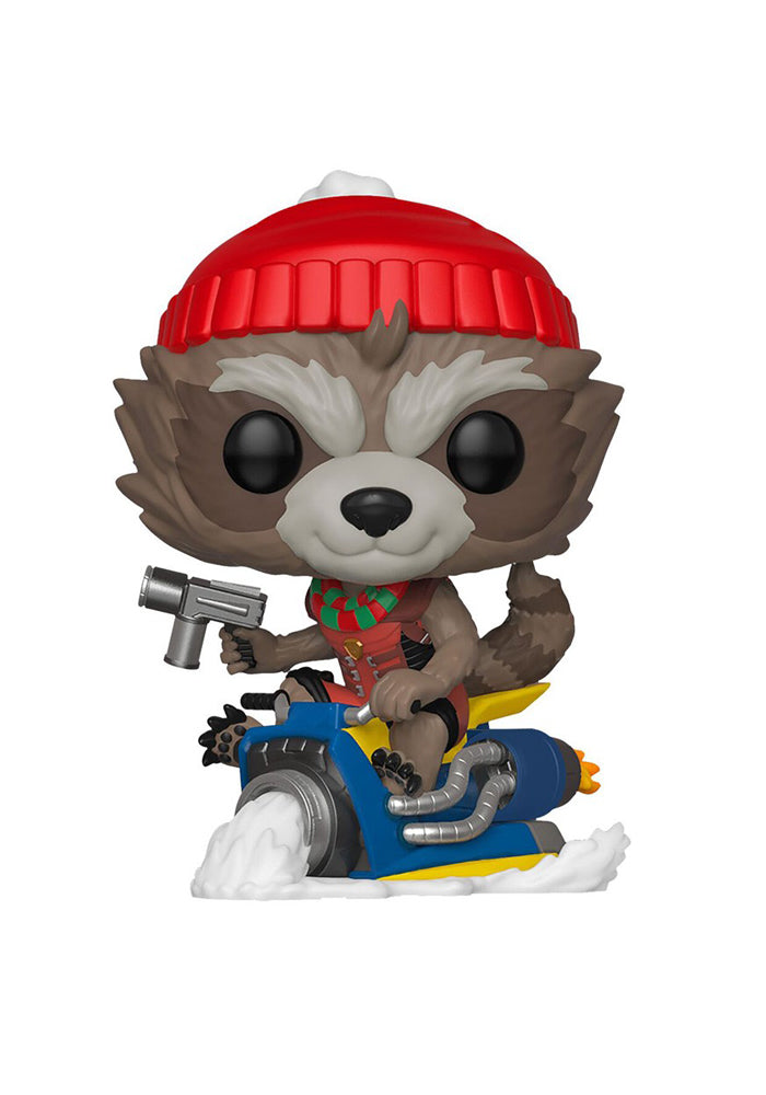 GUARDIANS OF THE GALAXY Funko Pop! Marvel: Holiday - Rocket Bobblehead