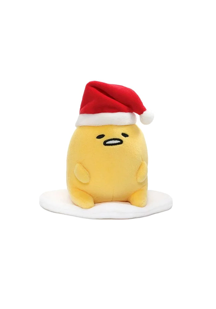 GUDETAMA Gudetama With Santa Hat Plush 5-inch