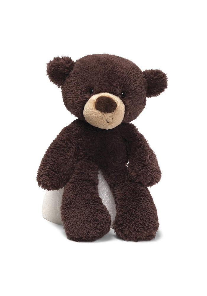 "GUND Fuzzy Chocolate Bear 13.5"" Plush"
