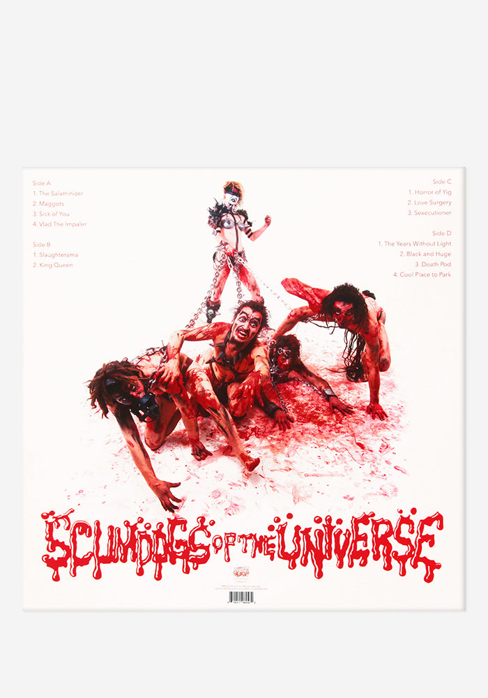 GWAR Scumdogs Of The Universe 30th Anniversary Edition Exclusive 2LP