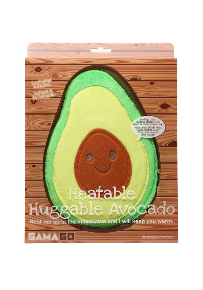 WICKED GOOD GIFTS Huggable Avocado Heatable Pillow