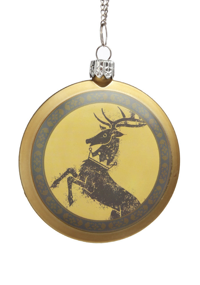 GAME OF THRONES House Baratheon Disc Ornament