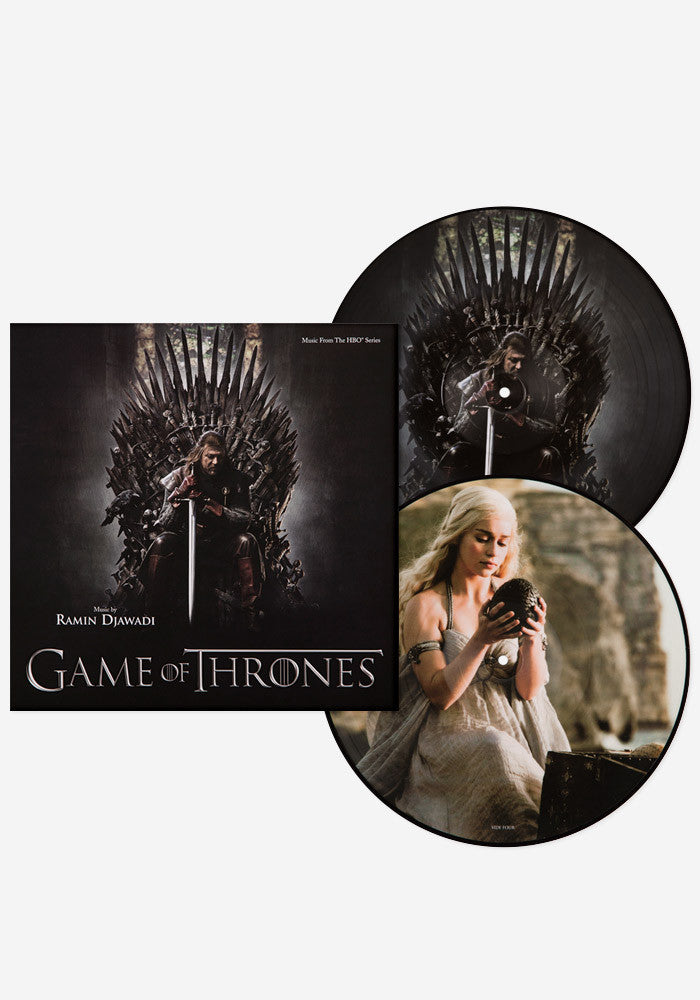 RAMIN DJAWADI Soundtrack - Game Of Thrones Exclusive 2 LP Picture Disc