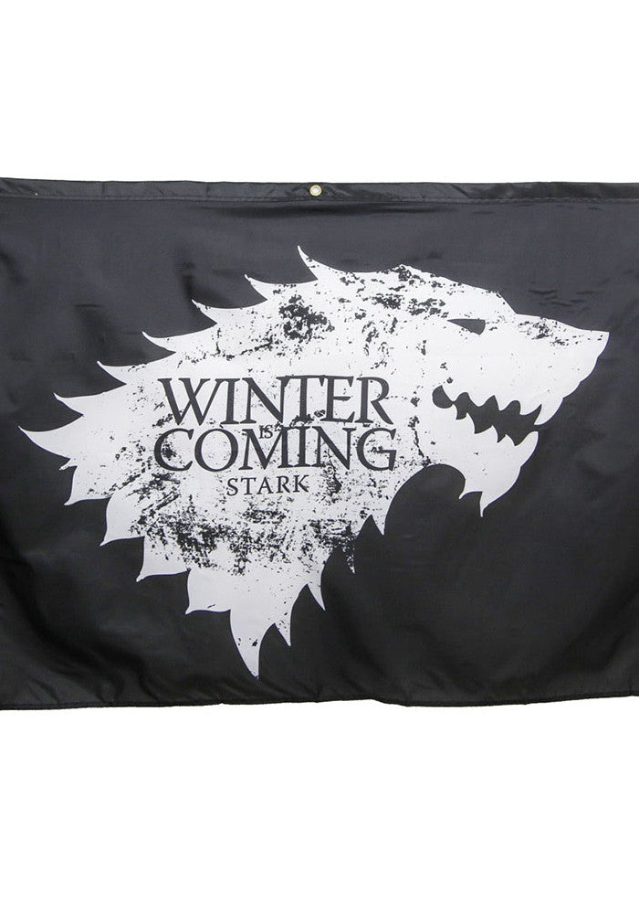 GAME OF THRONES House Stark Winter Is Coming Banner