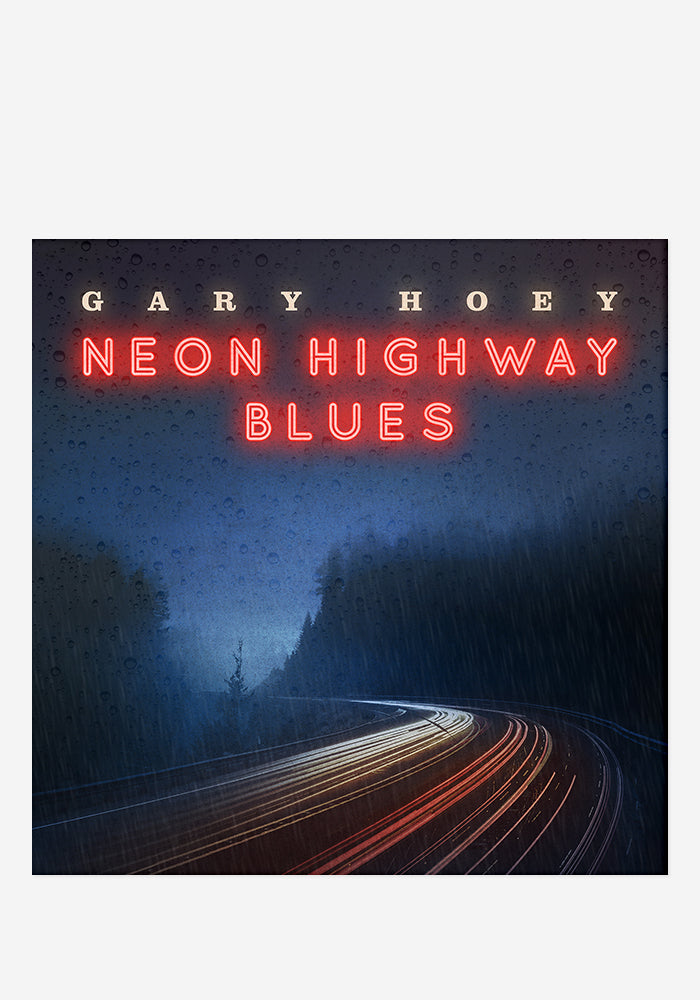GARY HOEY Neon Highway Blues CD With Autographed Postcard
