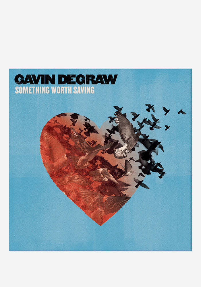 GAVIN DEGRAW Something Worth Saving With Autographed CD Booklet