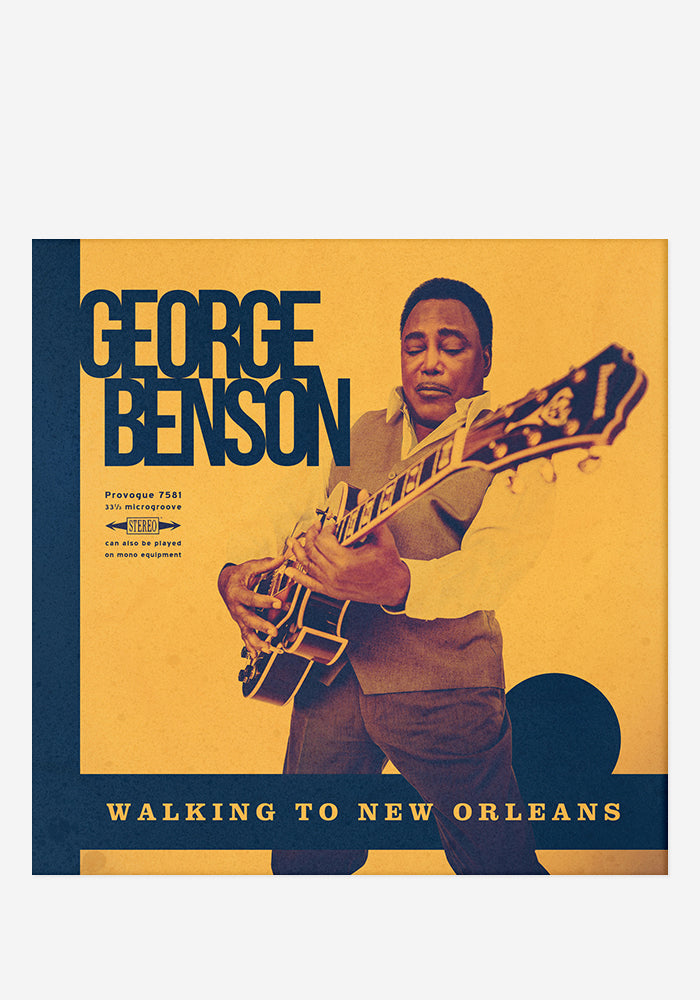 GEORGE BENSON Walking To New Orleans LP (Autographed)