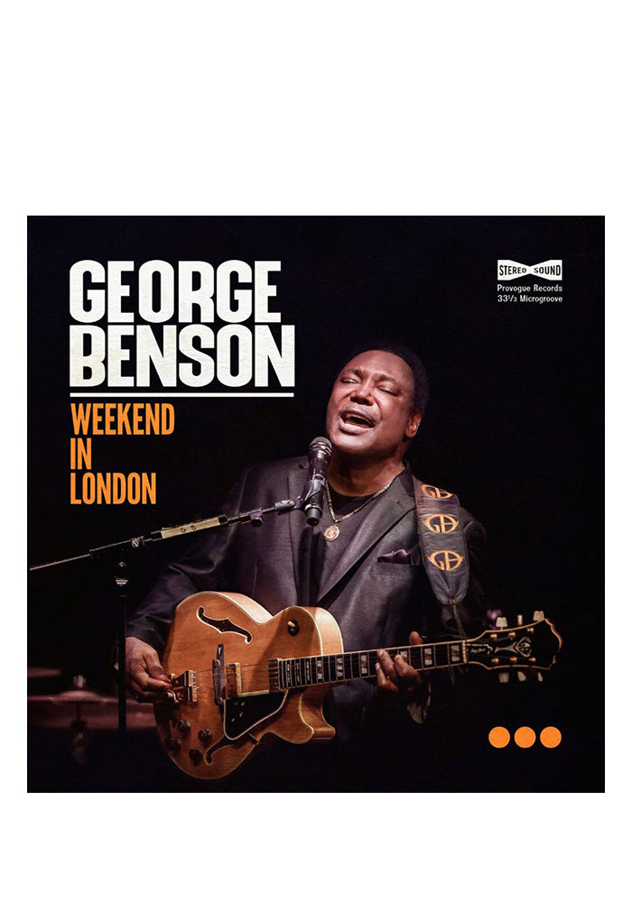 GEORGE BENSON Weekend In London 2LP With Autographed Postcard