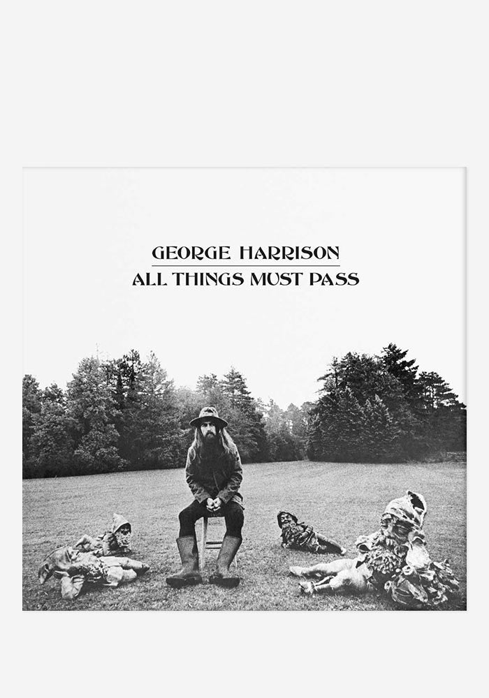 GEORGE HARRISON All Things Must Pass 3 LP