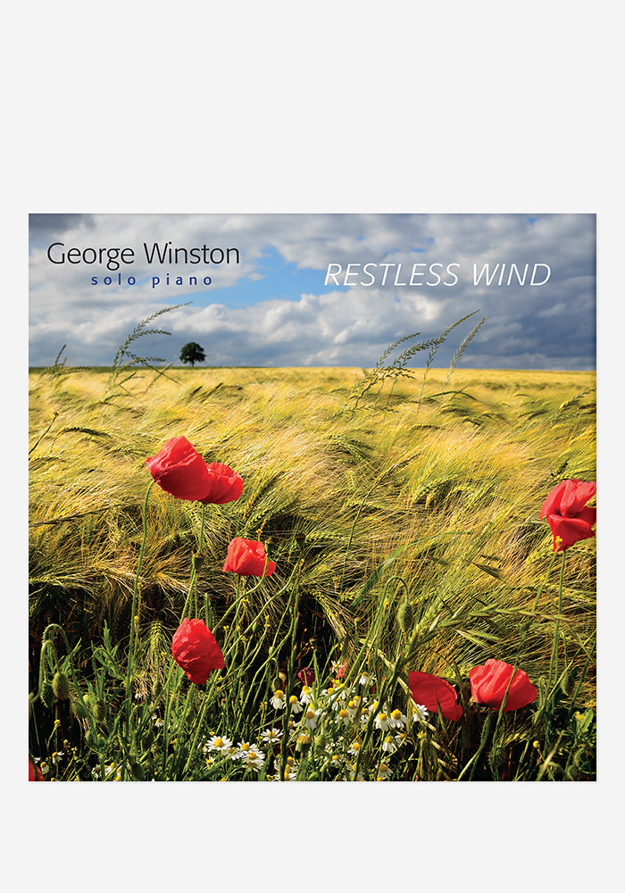 GEORGE WINSTON Restless Wind CD With Autographed Booklet
