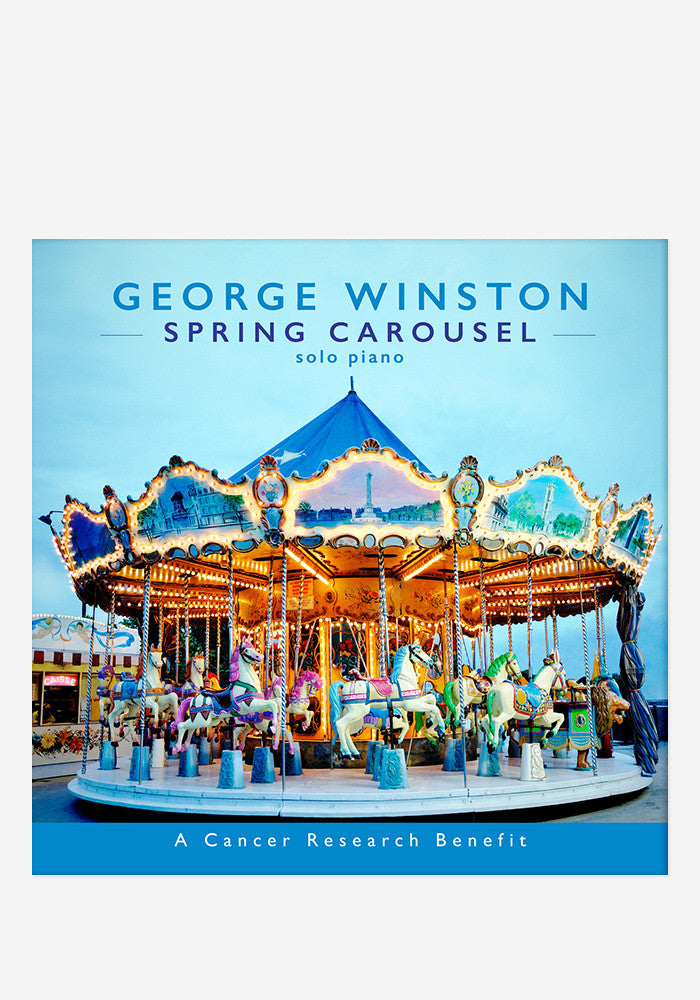GEORGE WINSTON Spring Carousel With Autographed CD Booklet
