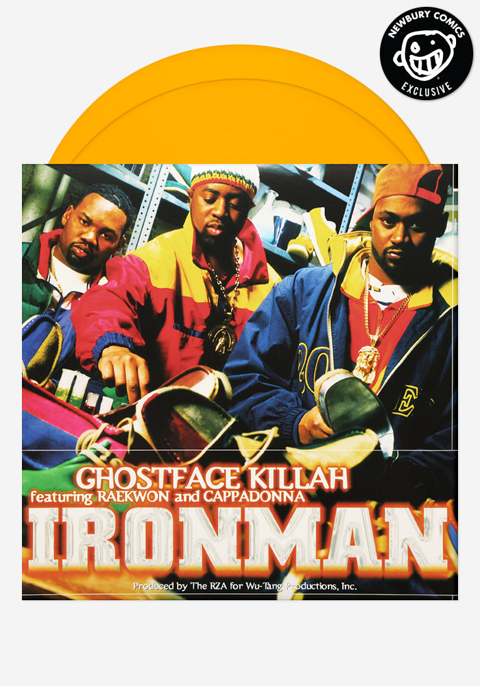 GHOSTFACE KILLAH Ironman Exclusive 2 LP