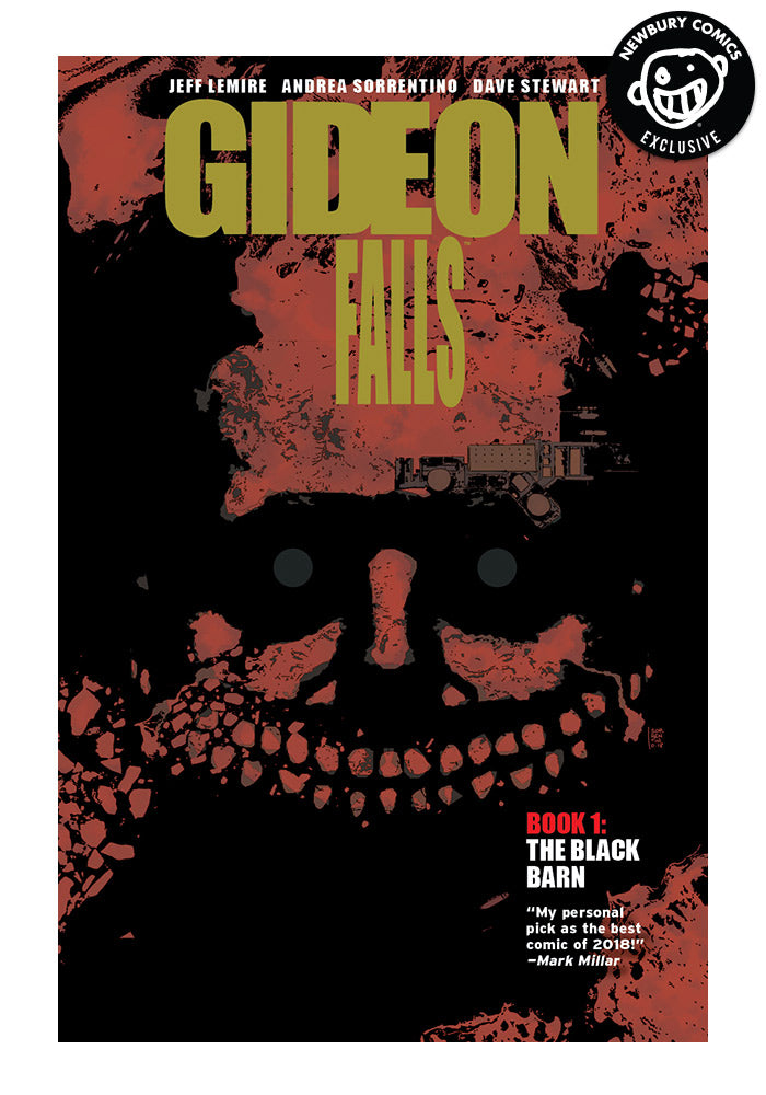 IMAGE COMICS Gideon Falls Vol 1: The Black Barn Exclusive Variant Graphic Novel