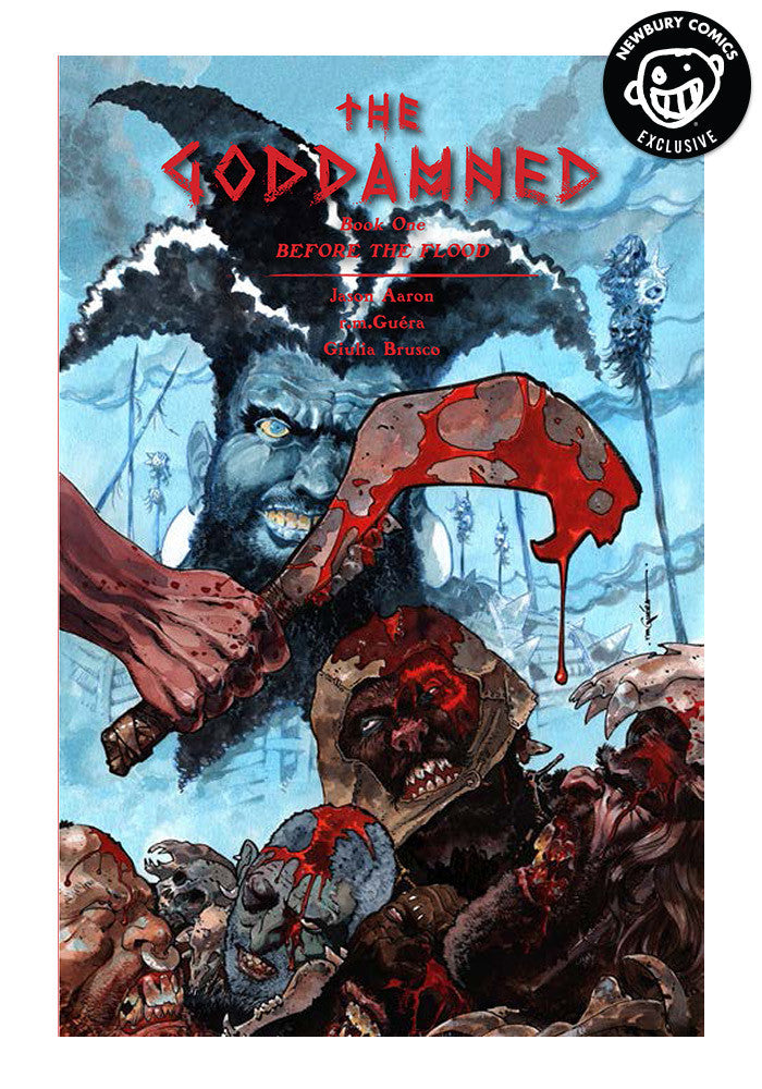 IMAGE COMICS Goddamned Vol 1 Exclusive Variant Graphic Novel