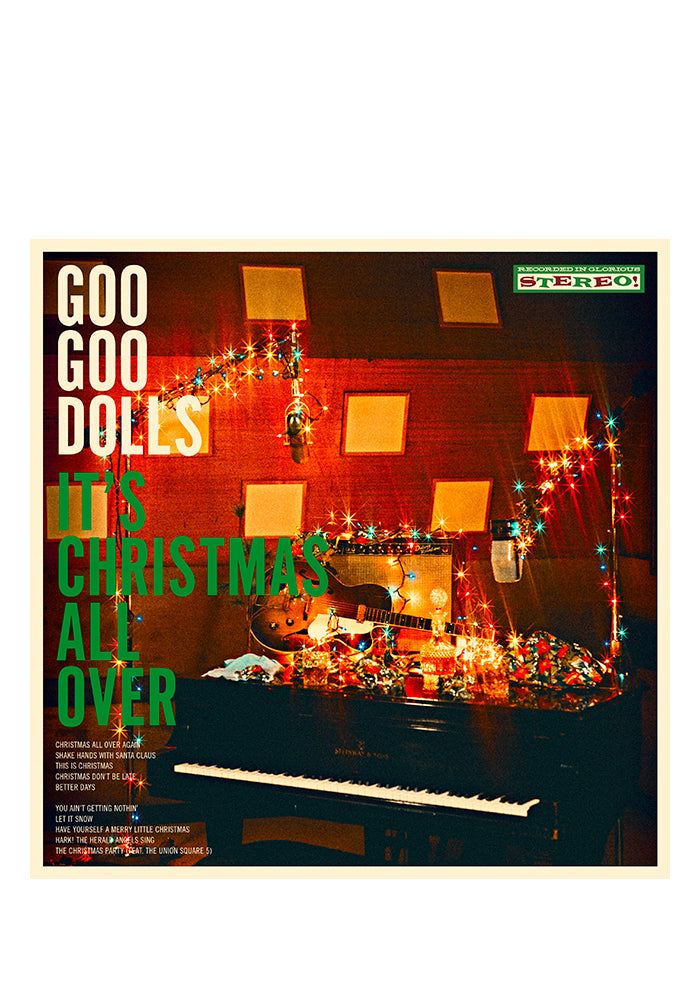 GOO GOO DOLLS It's Christmas All Over LP With Autographed Booklet