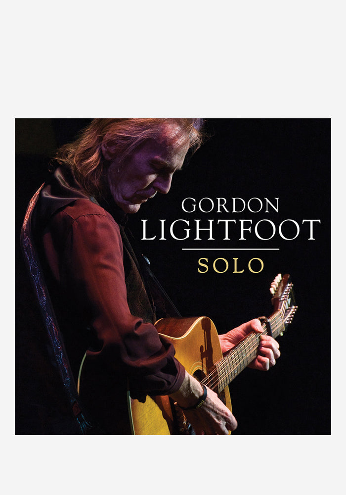 GORDON LIGHTFOOT Solo CD (Autographed)