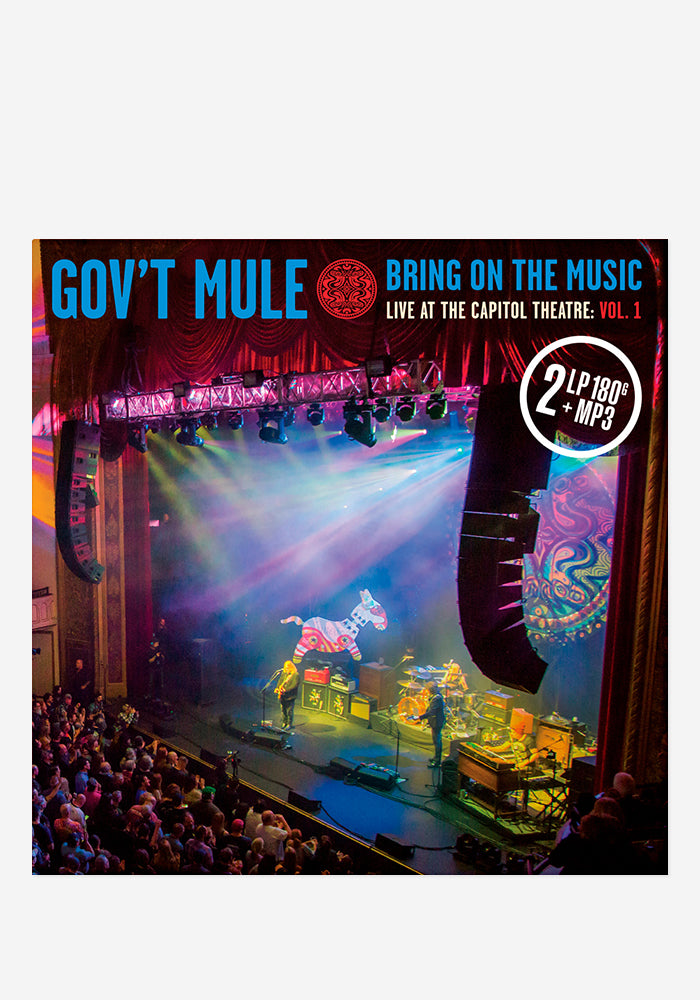 GOV'T MULE Bring On The Music - Live At The Capitol Theatre: Vol 1 2LP (Color) With Autographed Insert
