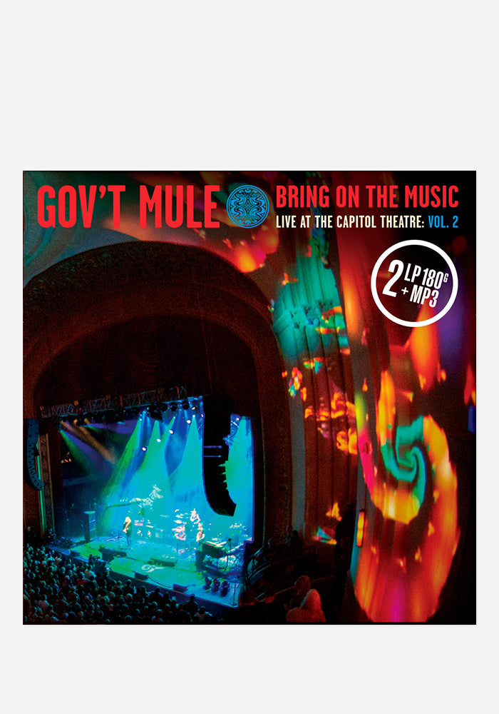 GOV'T MULE Bring On The Music - Live At The Capitol Theatre: Vol 2 2LP (Color) With Autographed Insert