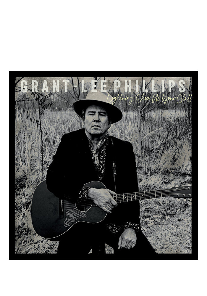 GRANT LEE PHILLIPS Lightning, Show Us Your Stuff Autographed LP + 7""