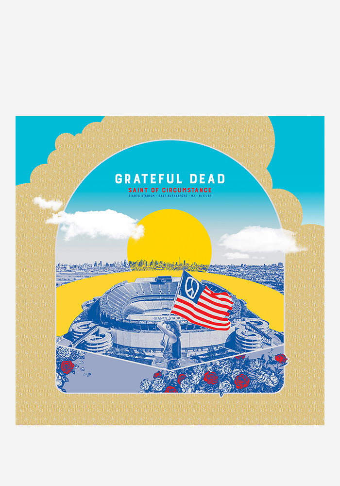 GRATEFUL DEAD Saint Of Circumstance: Giants Stadium, East Rutherford, NJ 6/17/91 5LP Box Set