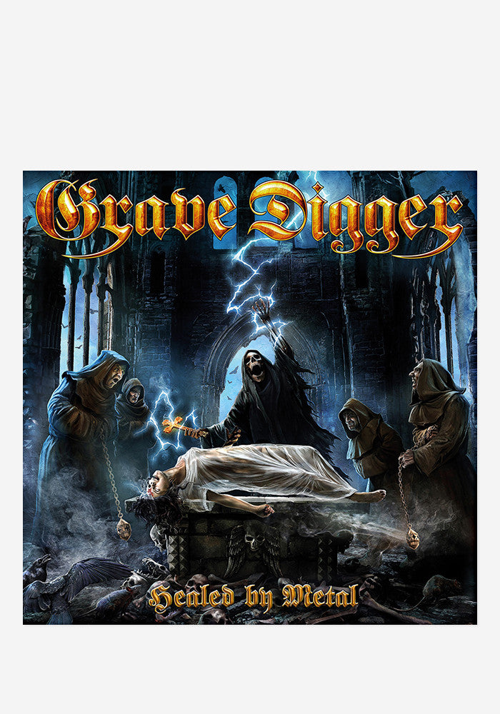 GRAVE DIGGER Healed By Metal With Autographed CD Booklet