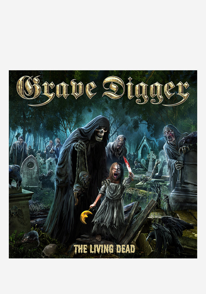 GRAVE DIGGER The Living Dead CD With Autographed Booklet