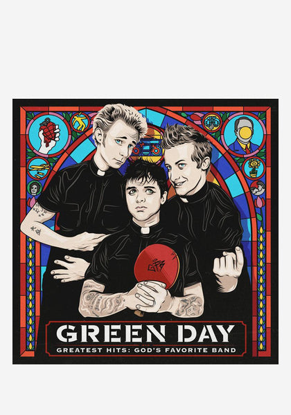 Green Day Greatest Hits God S Favorite Band 2 Lp Vinyl