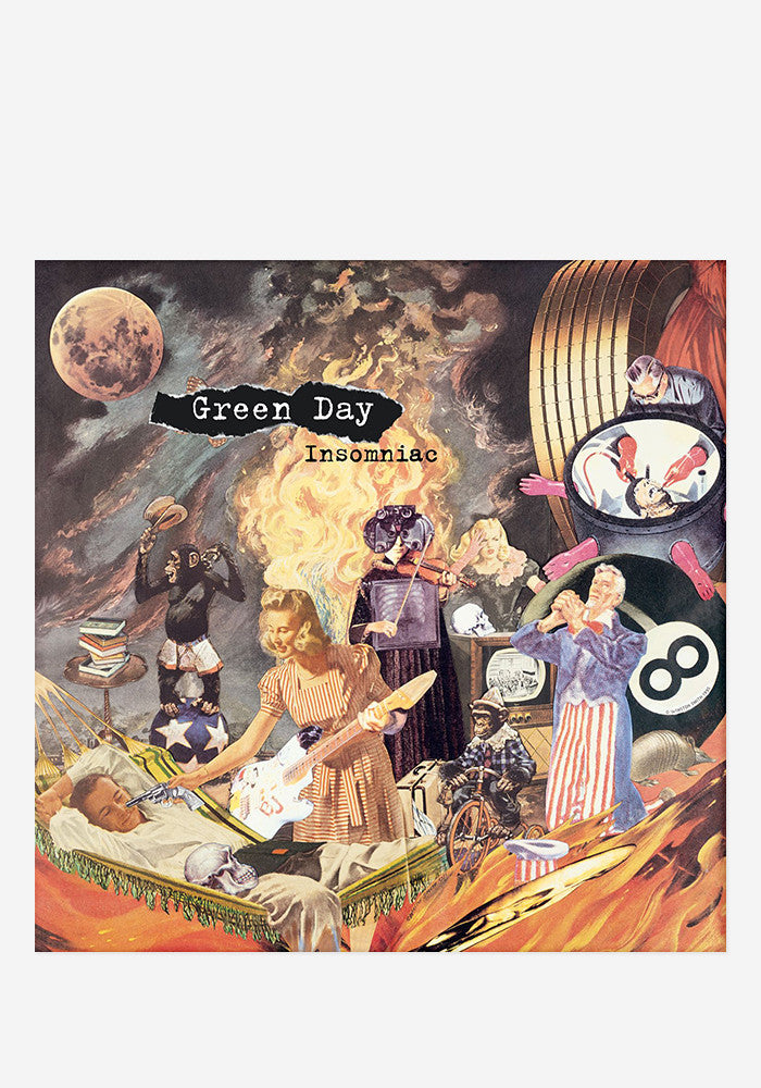 GREEN DAY Insomniac LP