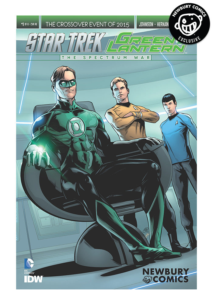 MARVEL COMICS Star Trek/Green Lantern: Spectrum War #1 - Angel Hernandez Exclusive Cover