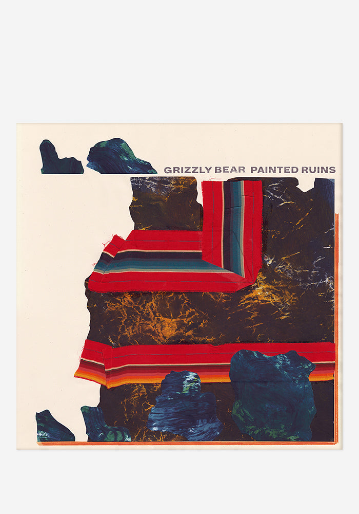 GRIZZLY BEAR Painted Ruins With Autographed CD Booklet