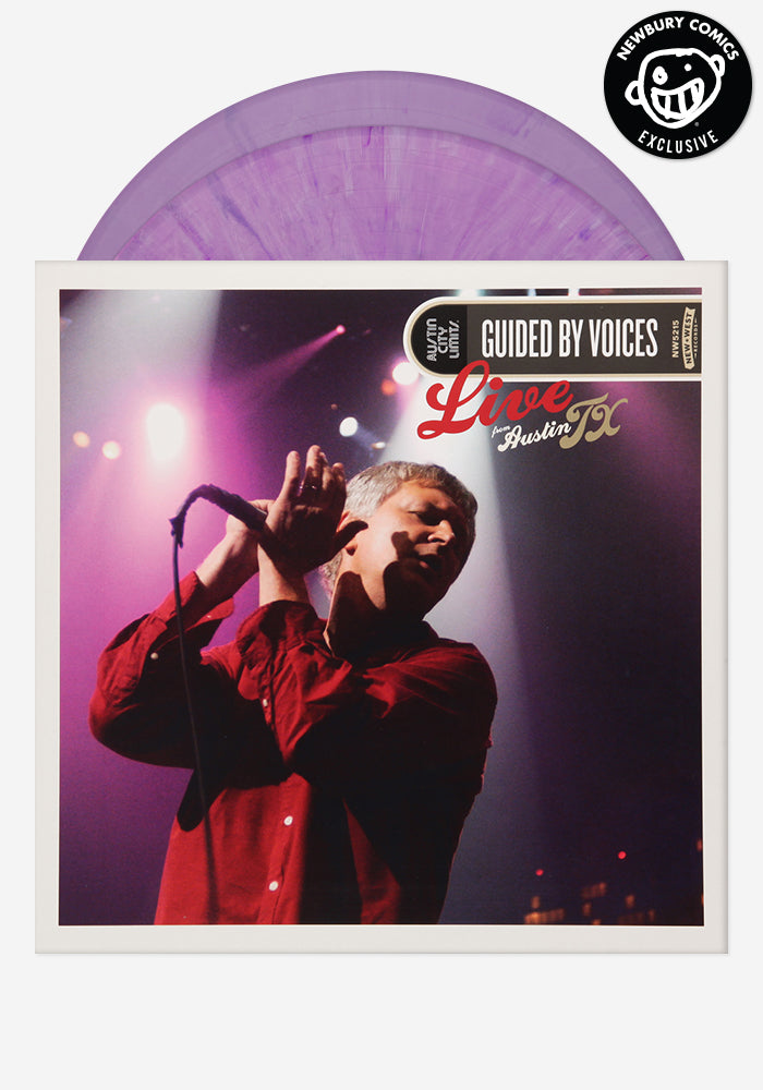 GUIDED BY VOICES Guided By Voices Live From Austin, TX Exclusive 2 LP